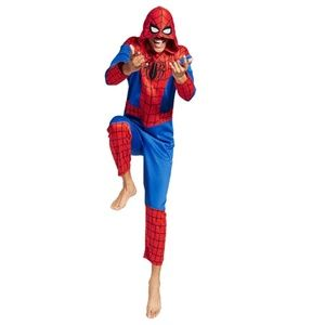 NEW Spiderman One-Piece Unionsuit Pajama Costume